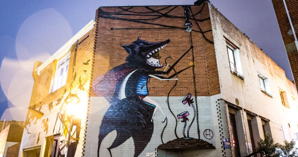 Street Art, Wolf Lane, Perth City